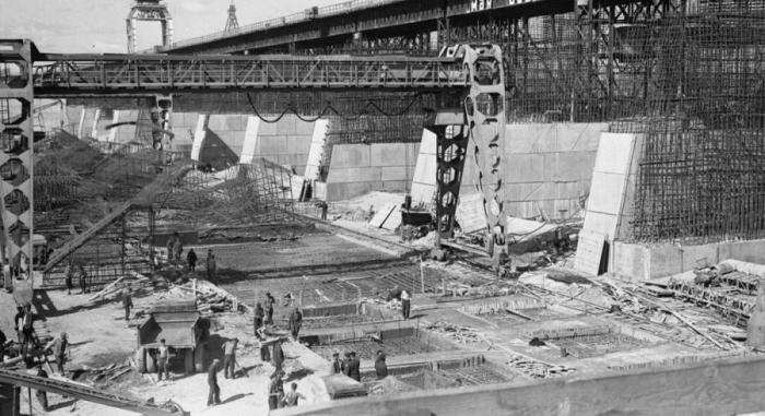 Construction of the Zhigulyovskaya Hydroelectric Station