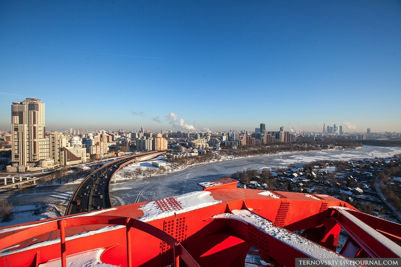 The Most Beautiful Moscow Bridge