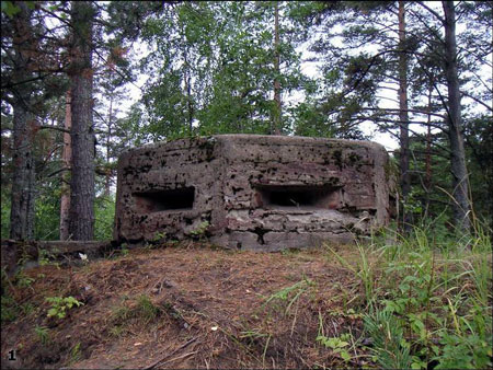 Russian fortifications from WW2 1