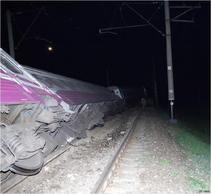 train crash in Ukraine 1