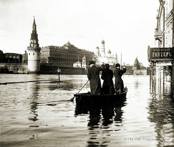 moscow flood at 1908 1