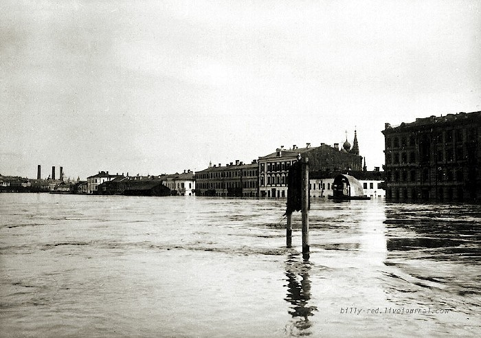 moscow flood at 1908 10