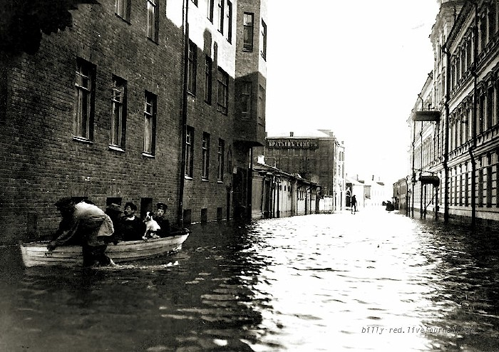 moscow flood at 1908 2