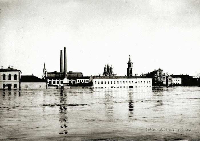 moscow flood at 1908 3