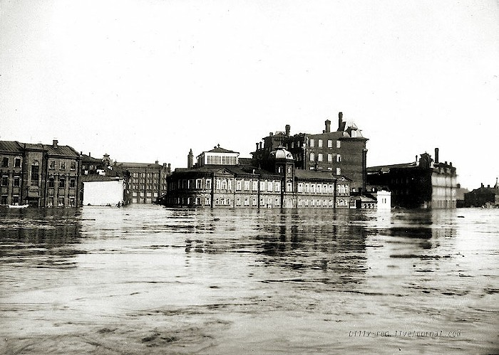 moscow flood at 1908 5