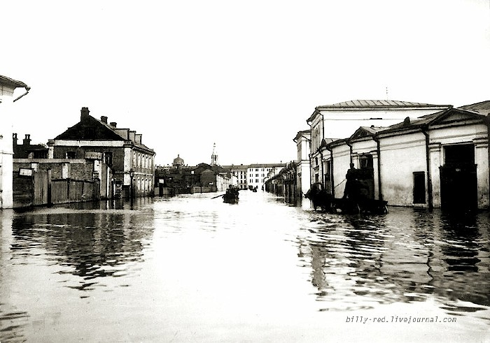 moscow flood at 1908 6