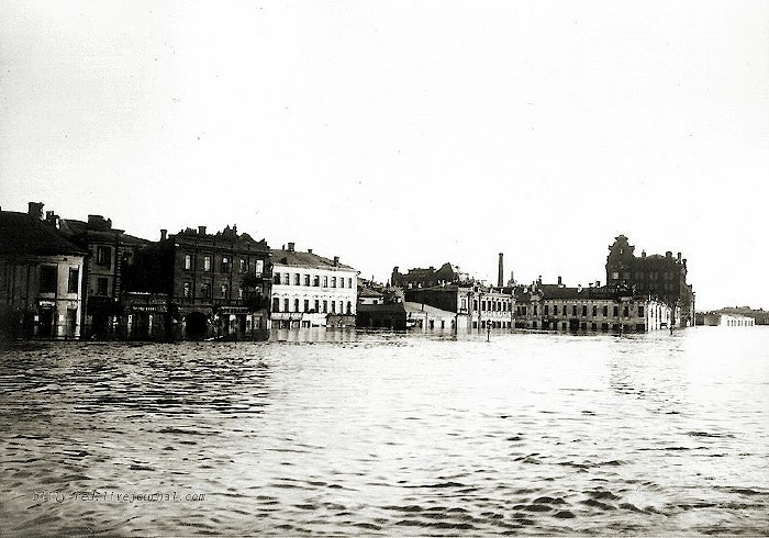 moscow flood at 1908 7