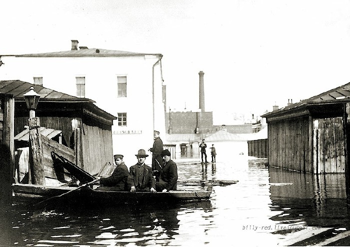 moscow flood at 1908 9