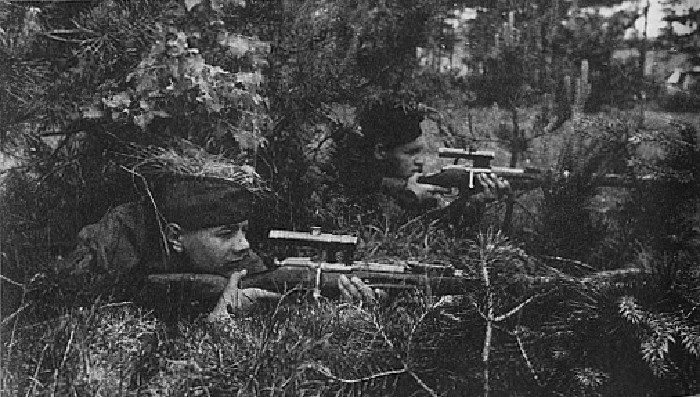 russian snipers from ww2 8