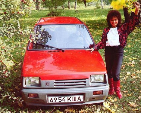 20 russian girls in oka car 1