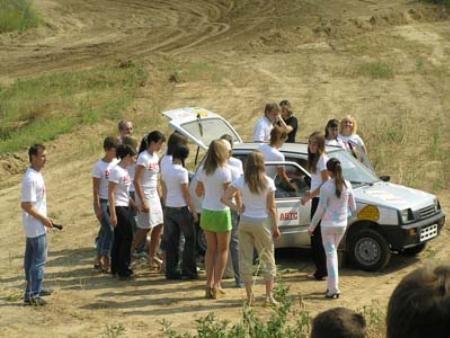 20 russian girls in oka car 3