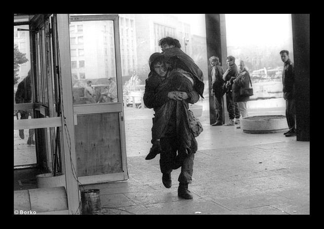 russian revolution in 1993