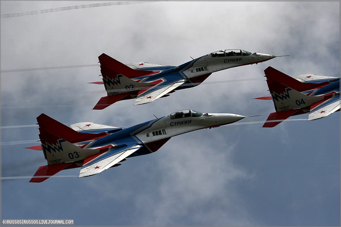 MAKS 2007 International Air Show in Moscow 12