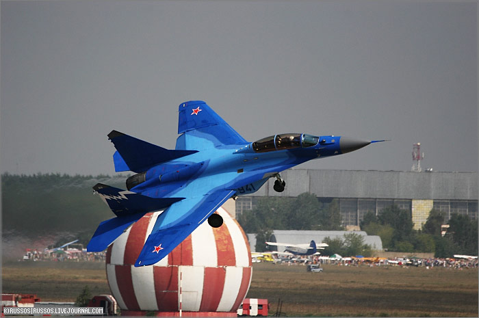 MAKS 2007 International Air Show in Moscow 9