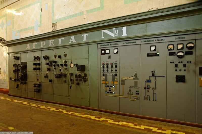 Cool Russian hydro electric plant 34