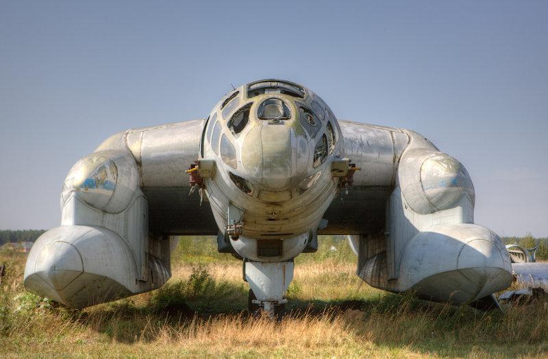 A Weird Soviet Plane VVA-14 1