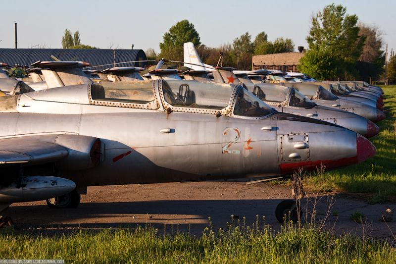 Abandoned Airdrome in Ukraine 16