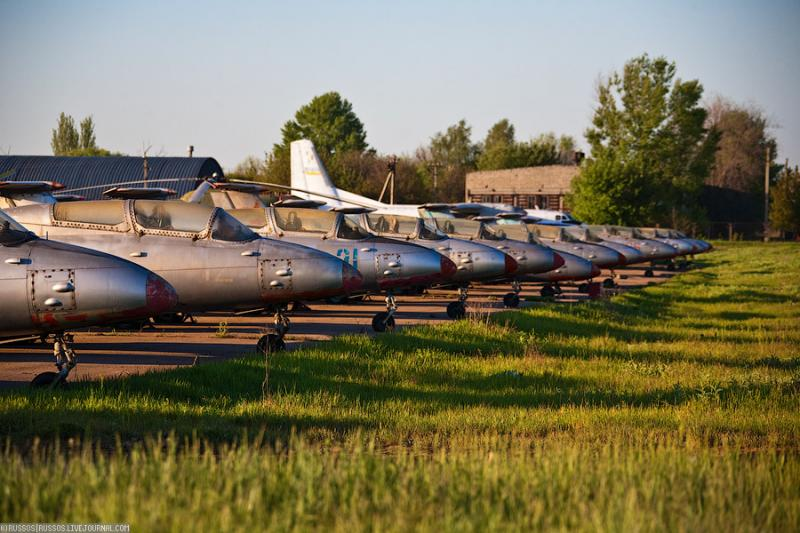 Abandoned Airdrome in Ukraine 18
