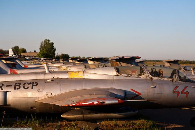 Abandoned Airdrome in Ukraine 20
