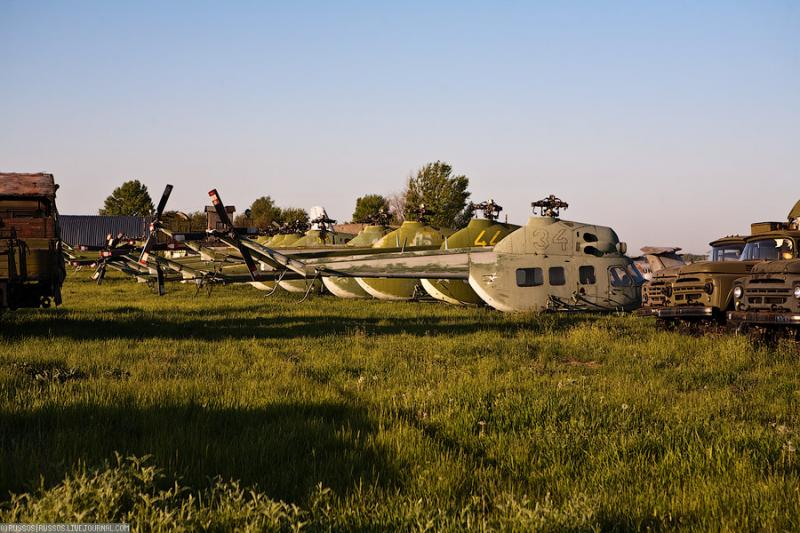 Abandoned Airdrome in Ukraine 28