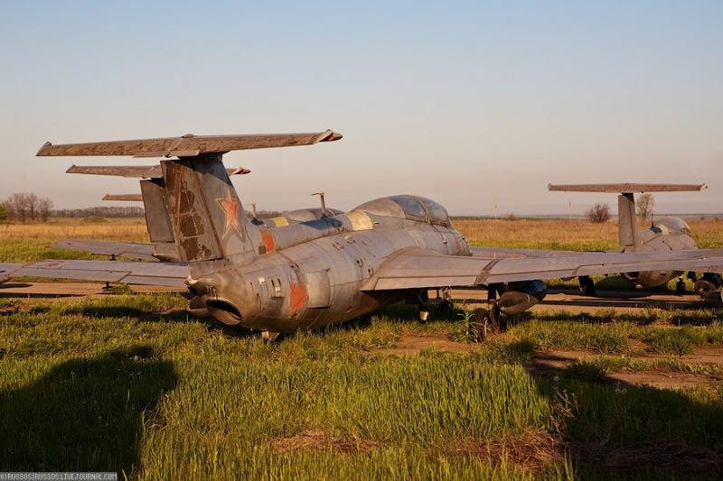 Abandoned Airdrome in Ukraine 33