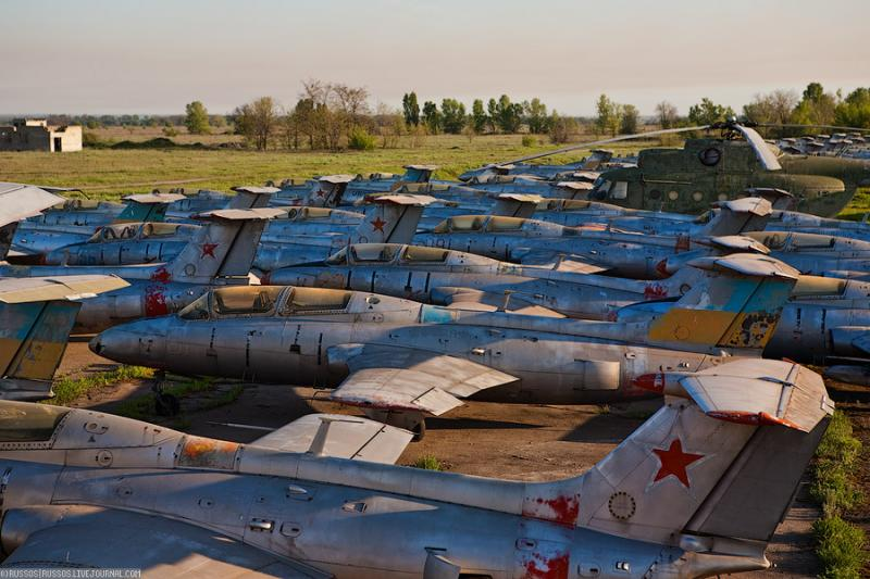 Abandoned Airdrome in Ukraine 38