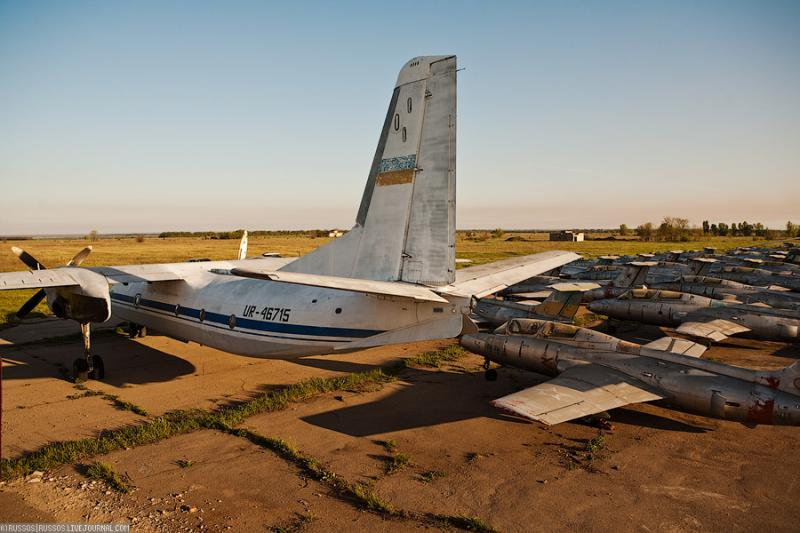 Abandoned Airdrome in Ukraine 40