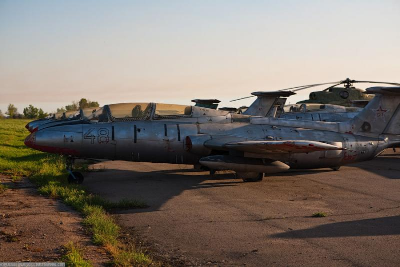 Abandoned Airdrome in Ukraine 41