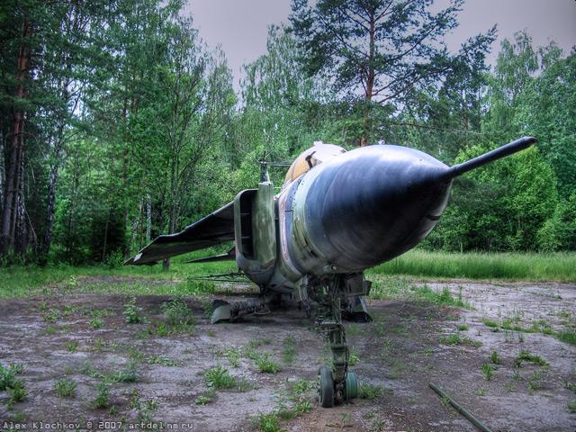 abandoned Russian tank base 10