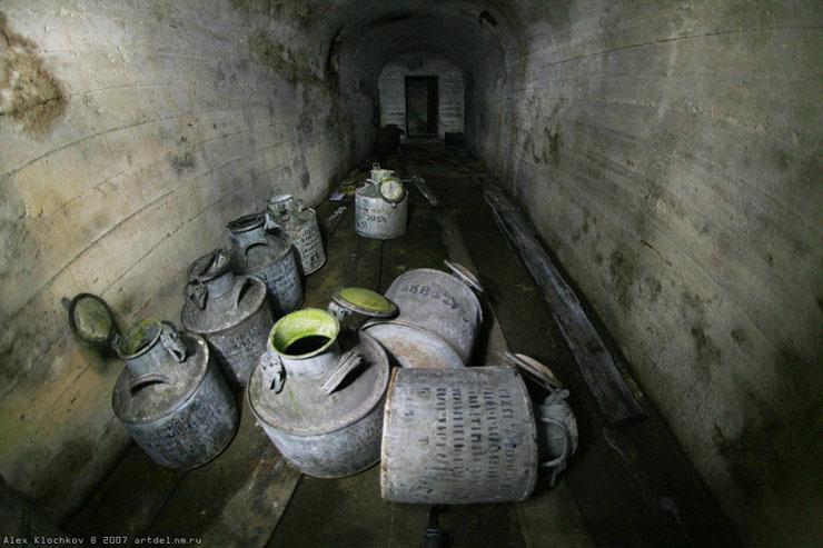 abandoned Russian tank base 15