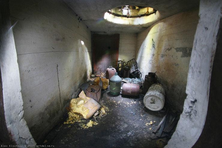 abandoned Russian tank base 16