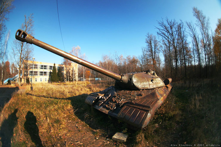 abandoned Russian tank base 17