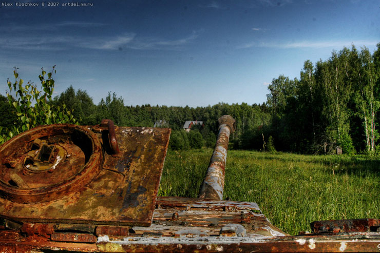 abandoned Russian tank base 5