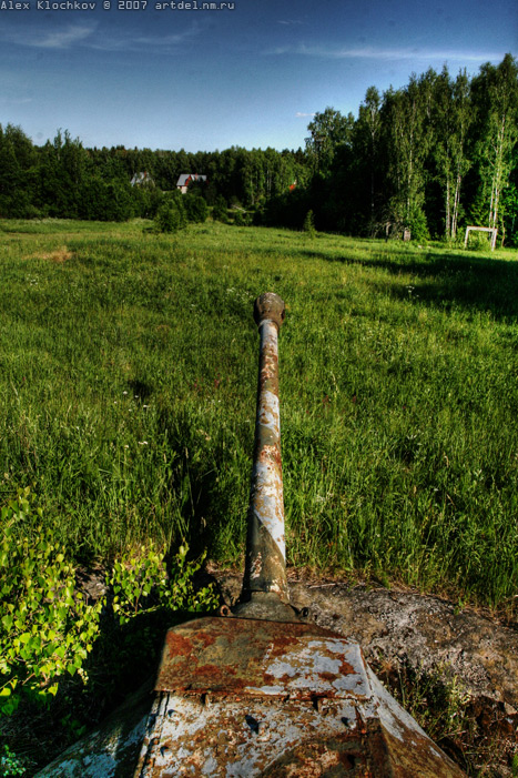 abandoned Russian tank base 6