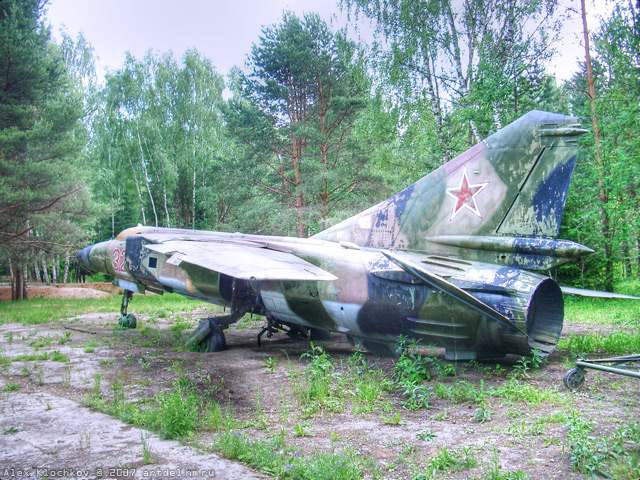 abandoned Russian tank base 7