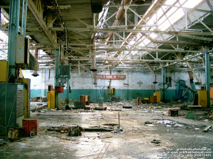 abandoned azlk automobile factory 10