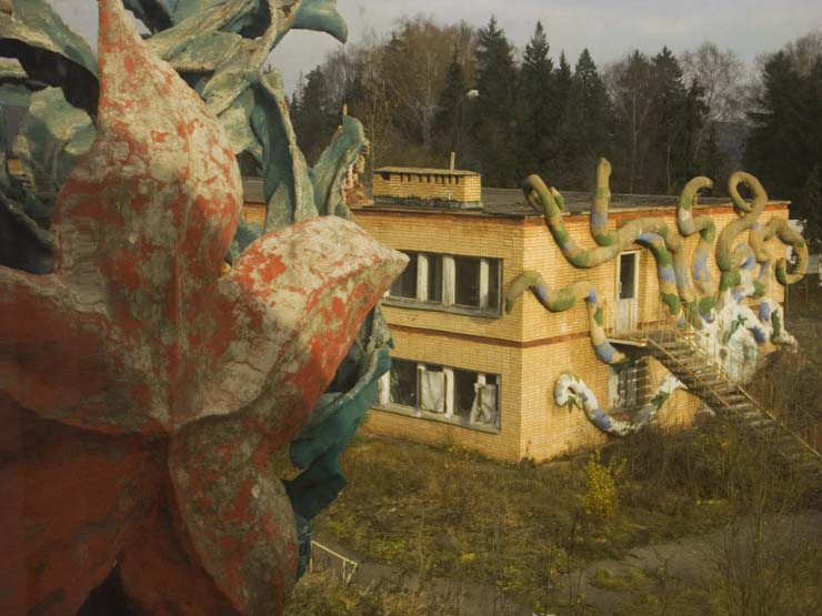 strange abandoned place in Russia 13