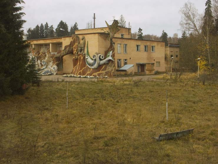strange abandoned place in Russia 16