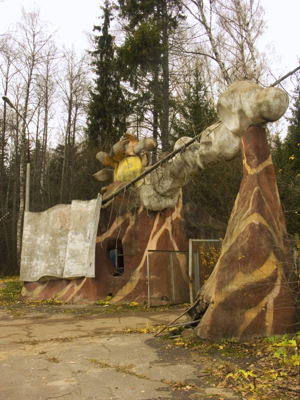 strange abandoned place in Russia 2