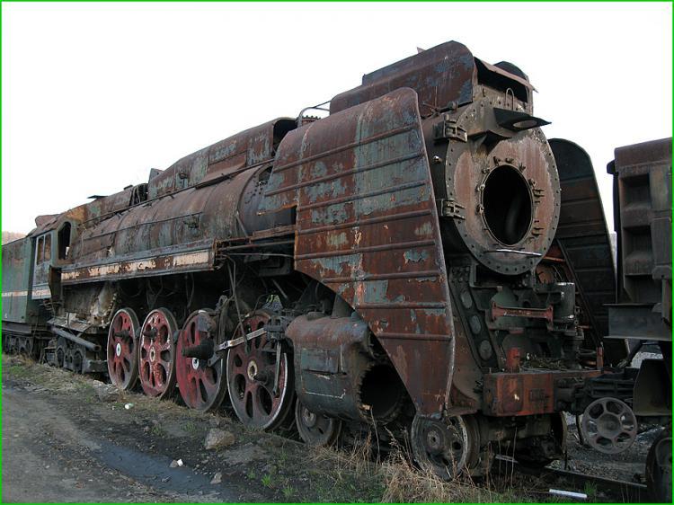 Abandoned Locomotives 1
