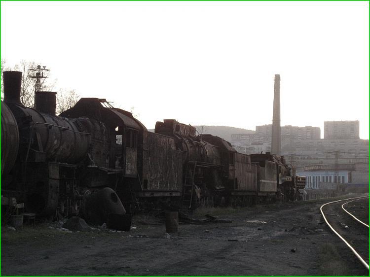 Abandoned Locomotives 11
