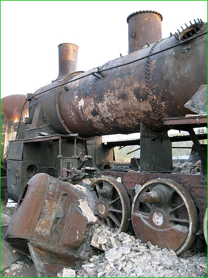 Abandoned Locomotives 18