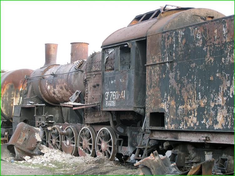 Abandoned Locomotives 19