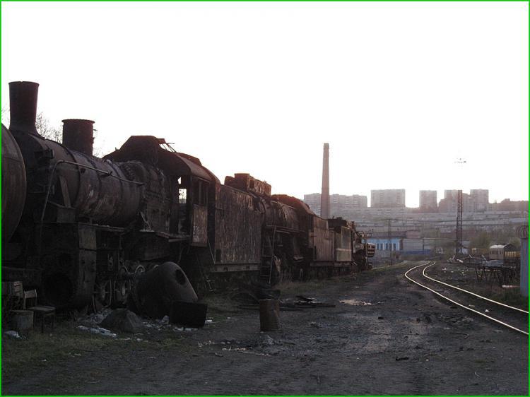 Abandoned Locomotives 2