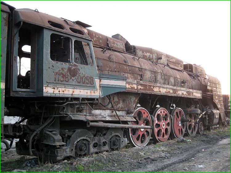 Abandoned Locomotives 20
