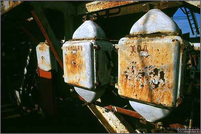 Russian abandoned heavy machinery 15