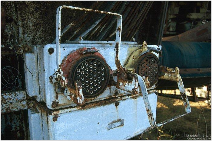 Russian abandoned heavy machinery 16