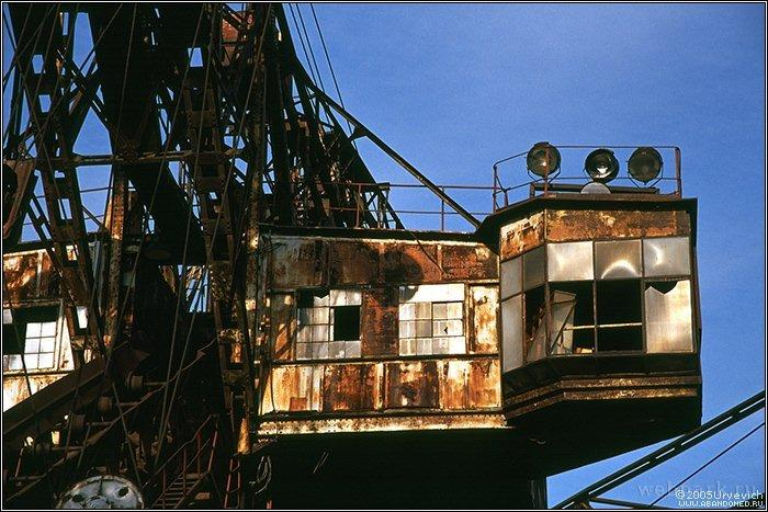 Russian abandoned heavy machinery 7