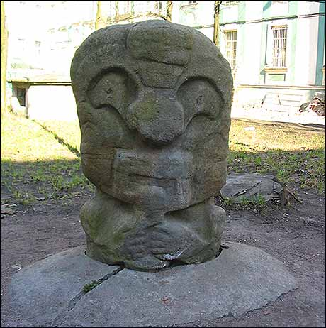 Abandoned Mayan Statues in... St. Petersburg