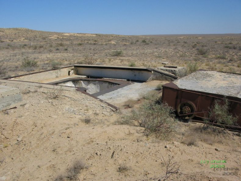 Russian abandoned missile launch site 1